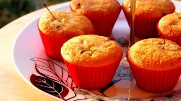 I muffin  alla ciliegia di Adelaide Melles