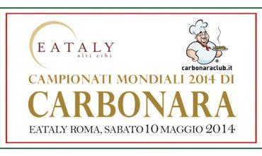 Mondiali di Carbonara 2014, vinca il migliore!