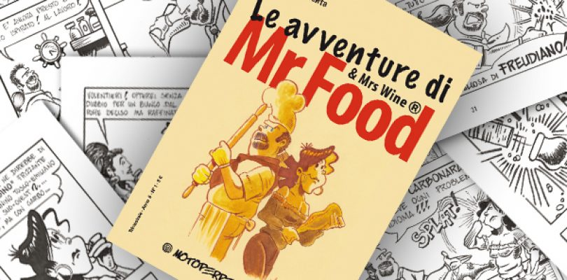 Mr Food diventa un fumetto!
