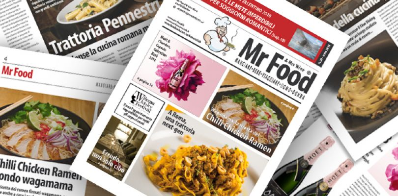 Il numero 30 di Mr Food & Mrs Wine è disponibile