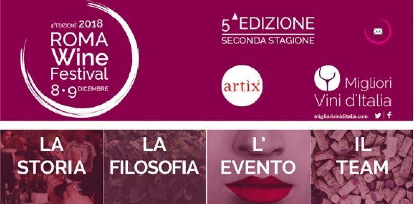 Roma Wine Festival, le migliori etichette d'Italia