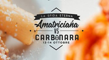 Amatriciana vs Carbonara, il tempo stringe!