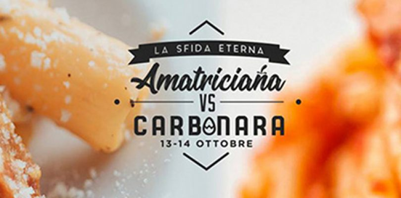Amatriciana vs Carbonara, il tempo stringe!